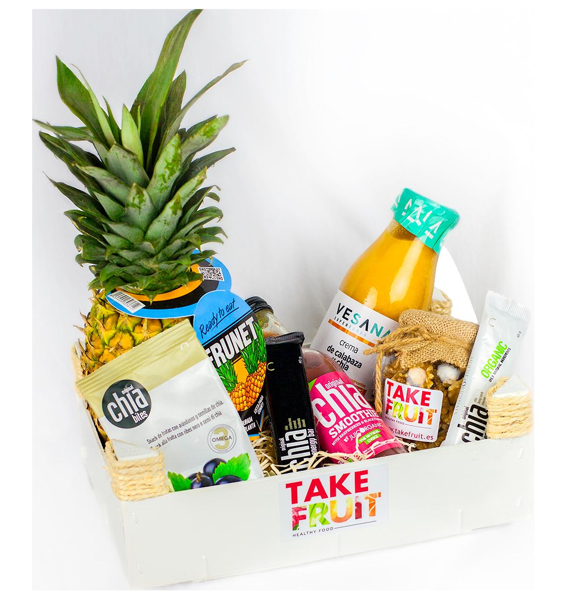 cestas de fruta regalos corporativos